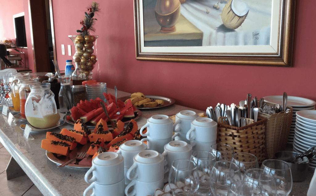 Café da manhã Hotel Portal da Lua